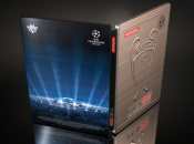 PES 2013 Scores Champions League Themed Metallic Cover