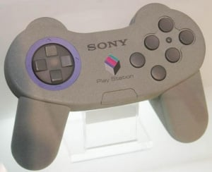 Sony went through several revisions of the PlayStation pad before settling on the final iconic design