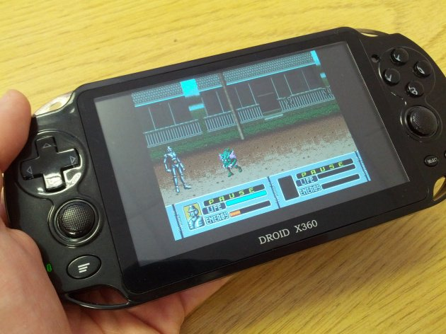 Mega Drive emulation comes preloaded