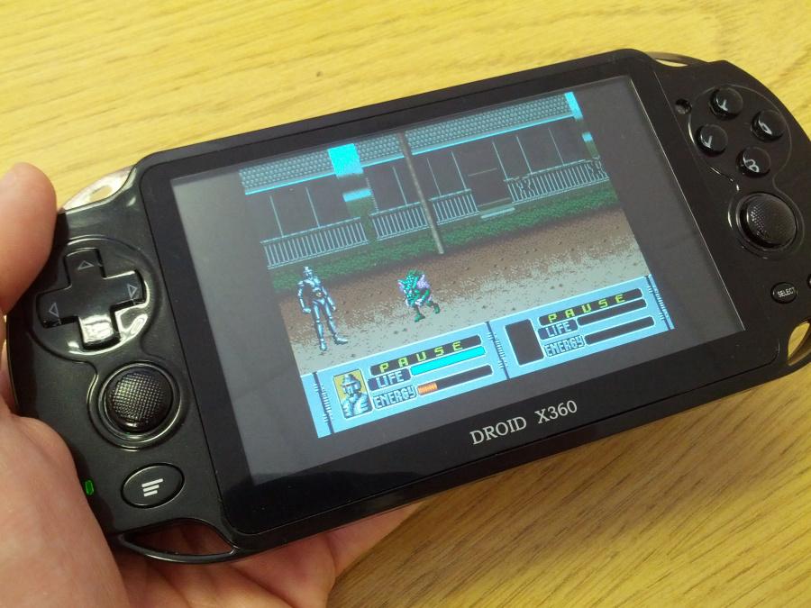 Mega Drive emulation comes preloaded