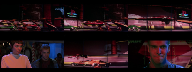 The Hollywood movie Hackers featured a racing sequence created by the WipEout team