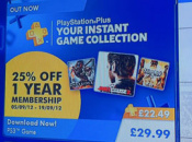 Sony Europe Offering PlayStation Plus for £22.49 in UK?
