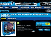 Purchase a 12GB PlayStation 3 and Wonderbook for £119.99