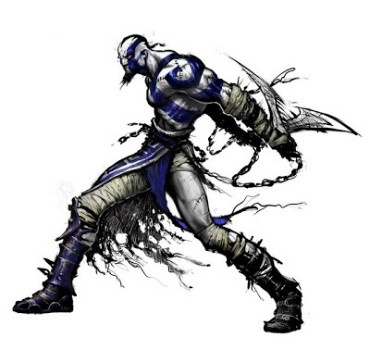Kratos Once Sported A Rather Fetching Blue Tattoo Push Square