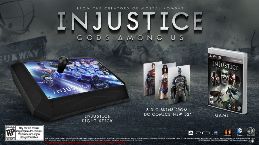 Injustice: Gods Among Us Punches PlayStation 3 on 16th April