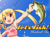 Let's Fish Hooks Footage of Feisty Angler Jamie