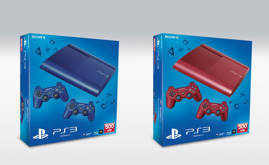 PlayStation 3 Super Slim Flashes Red and Blue in UK
