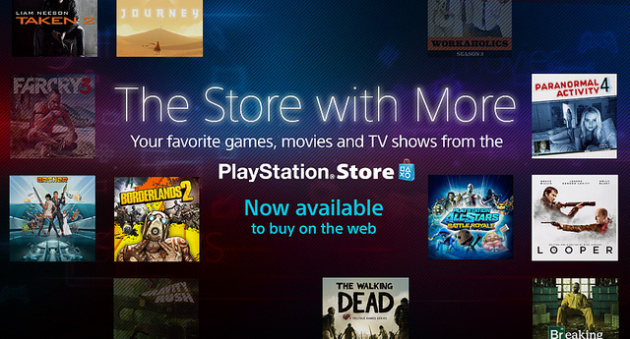 Sony Cuts the Ribbon on North American PlayStation Webstore