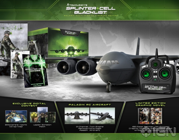 Splinter Cell: Blacklist's Huge Collector's Edition Takes Flight