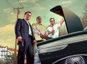 What Are the Protagonists of Grand Theft Auto V Looking At?