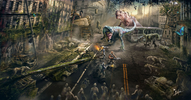 Dead Nation 2 Concept Art Stumbles into Sight