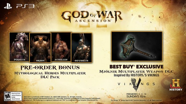 God of War: Ascension Allies with the History Channel