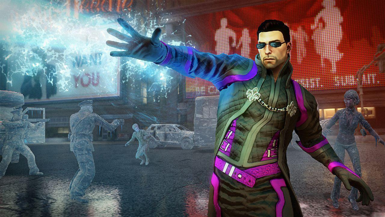 Saints Row IVs Christmas themed DLC available now