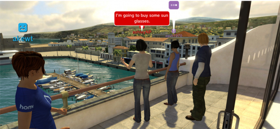 PlayStation Home 4