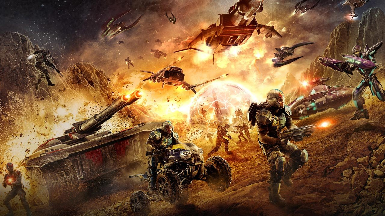 can the playstation 4 handle soe s planetside 2 push square