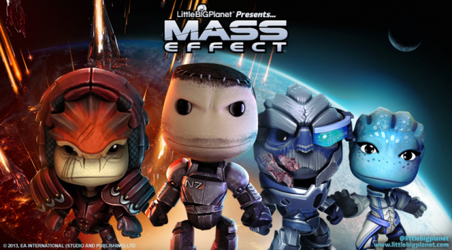 Mass Effect LittleBigPlanet