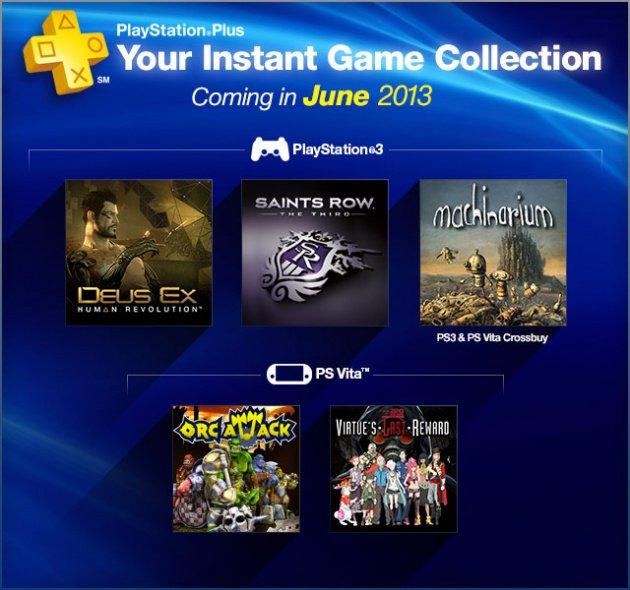 PlayStation Plus Content for June