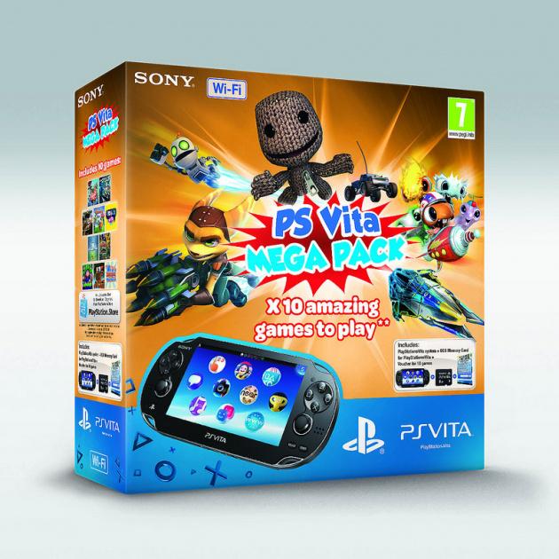 PlayStation Vita Mega Pack
