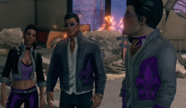 Saints Row Gat