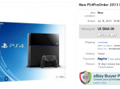 Someone Purchased a PS4 Pre-Order for Over $850