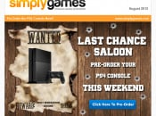Looks Like It Really Is Last Chance Saloon for PS4 Pre-Orders