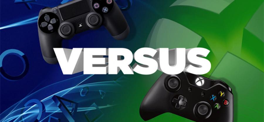 PS4 vs. Xbox One - 1