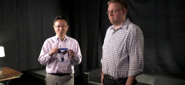 Shuhei Yoshida and Adam Boyes