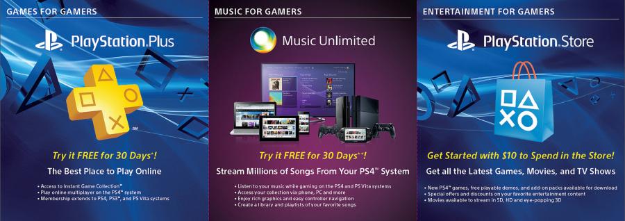 PlayStation 4 Voucher