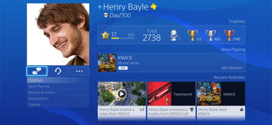 PS4 UI 2