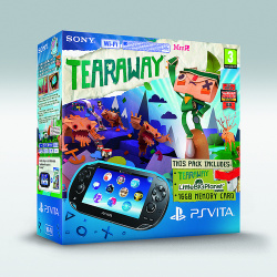 UK exclusive bundle with Tearaway and LittleBigPlanet Vita