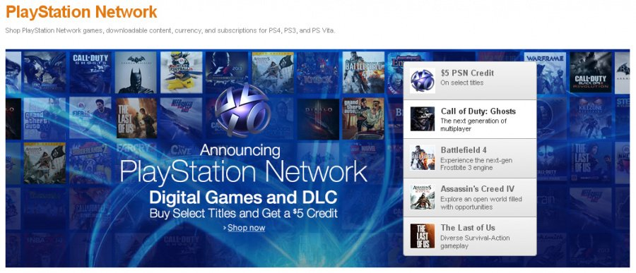 PlayStation Store Amazon 2