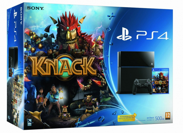 Knack PlayStation 4 Bundle