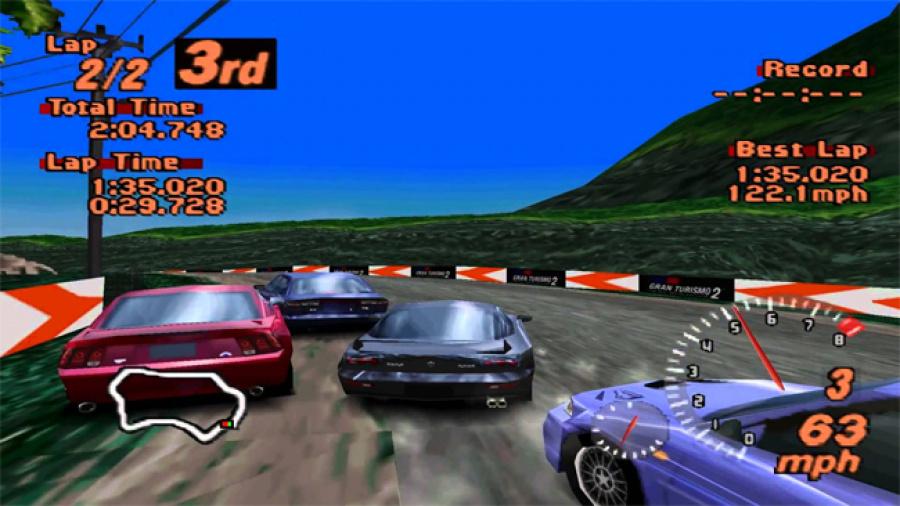 Gran Turismo 2 Screen
