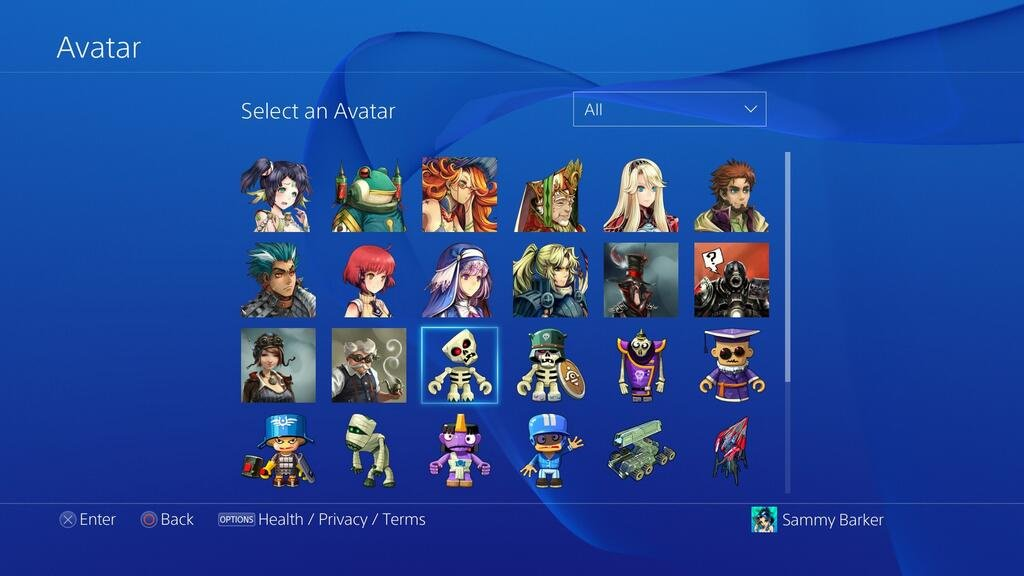 how to change your avatar on the ps4   guide   push square