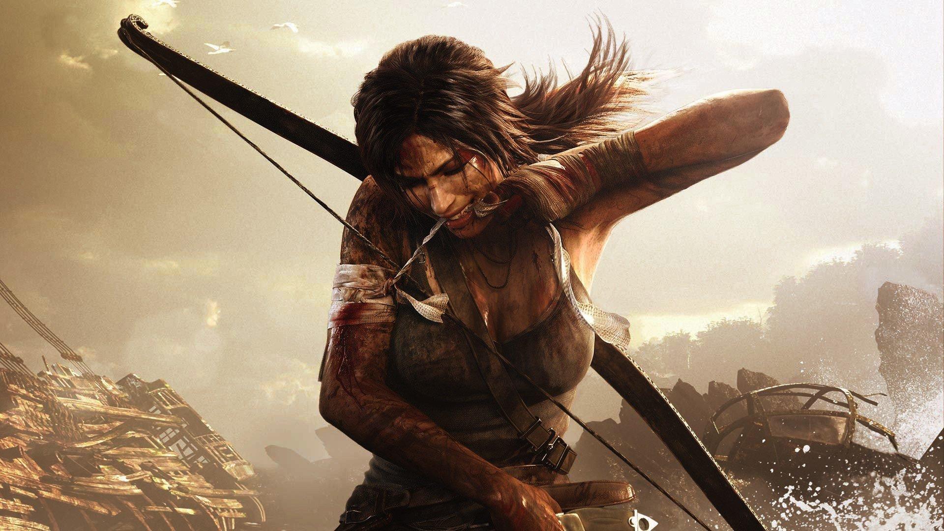 PS4 Gives Lara Croft's Hair a Lift in Tomb Raider ...