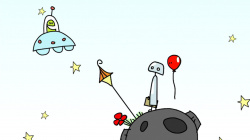 A bot and his balloon