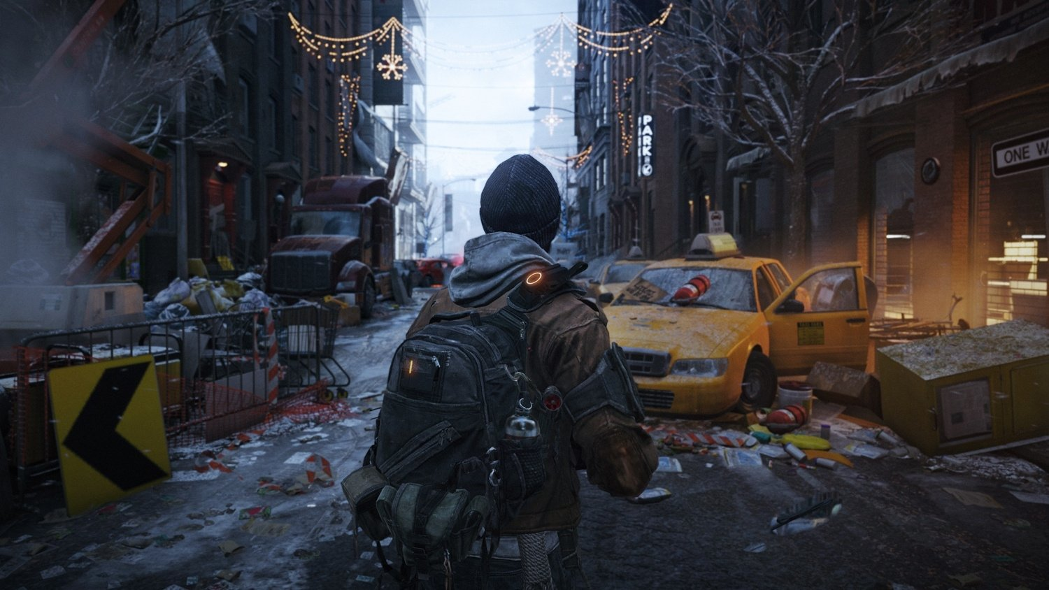 tom clancy 39 s the division hints at what your ps4 can do push square. Black Bedroom Furniture Sets. Home Design Ideas