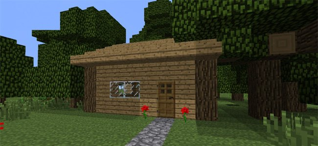 Image result for minecraft a starter house
