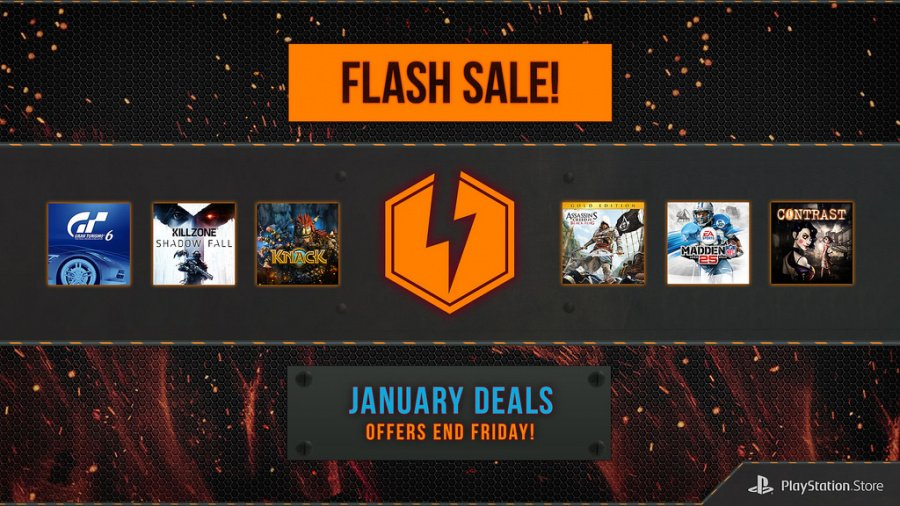 PlayStation Network Flash Sale