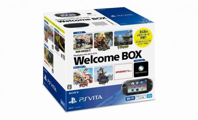 PS Vita Welcome Box