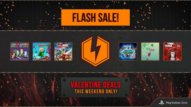 PlayStation Store Valentine's Day Flash Sale