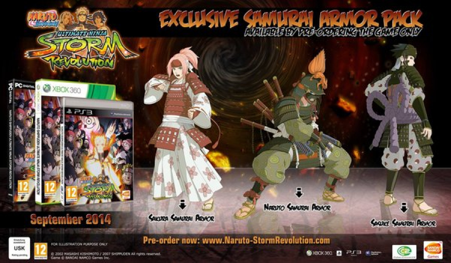 Naruto Samurai Skins