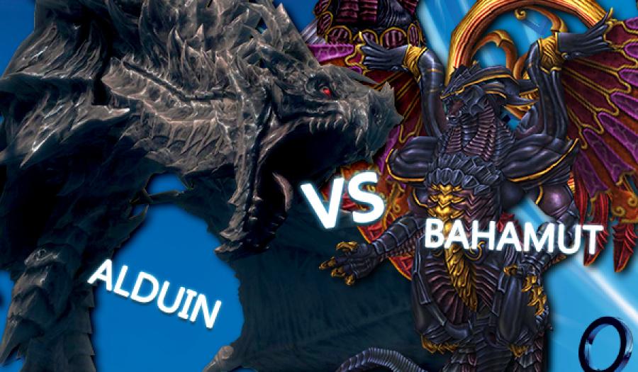 WWWW Alduin Bahamut