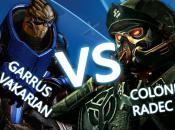Garrus Vakarian vs. Colonel Radec