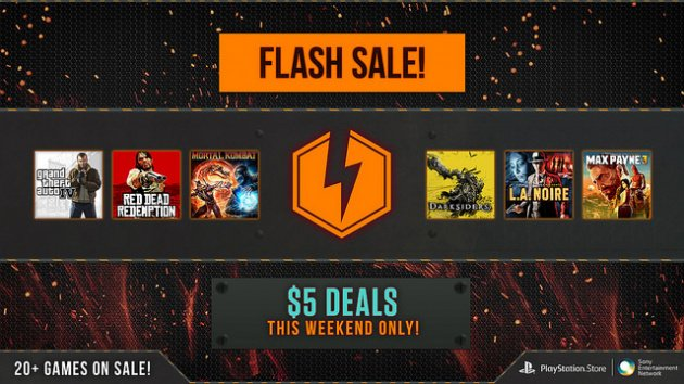 PSN Flash Sale