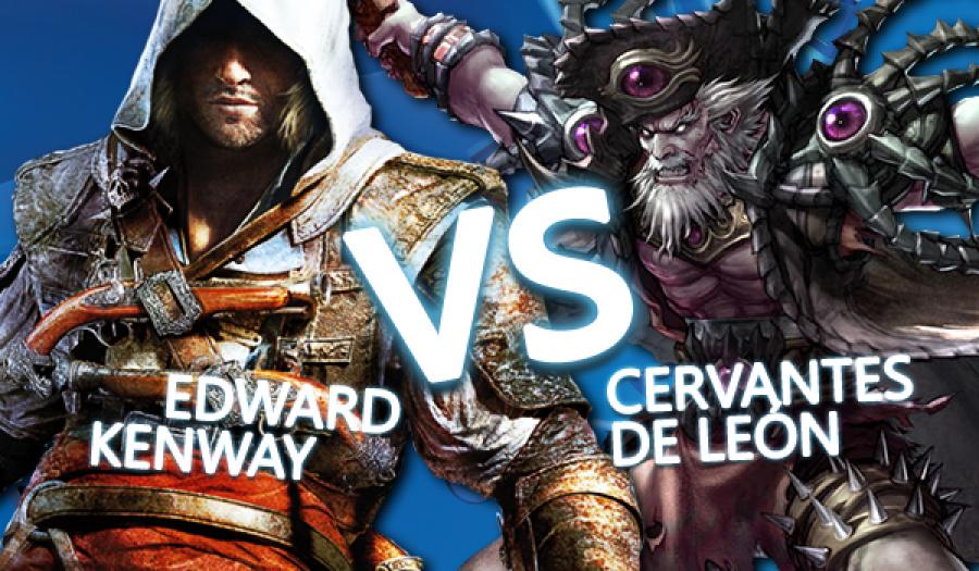 WWWW Edward Kenway Cervantes De Leon