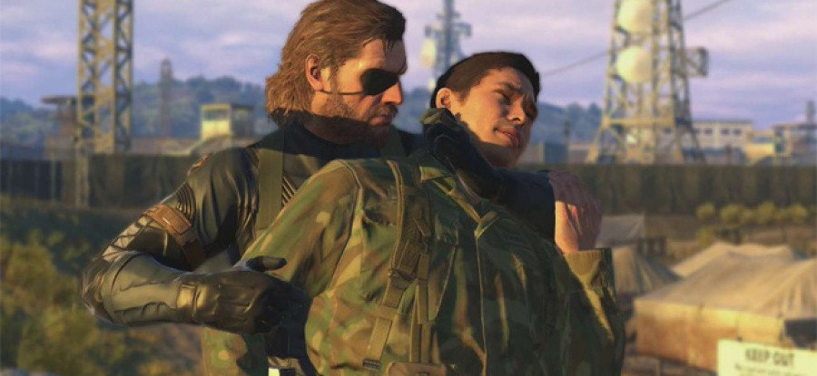 Metal Gear Solid V: The Phantom Pain PS4 5
