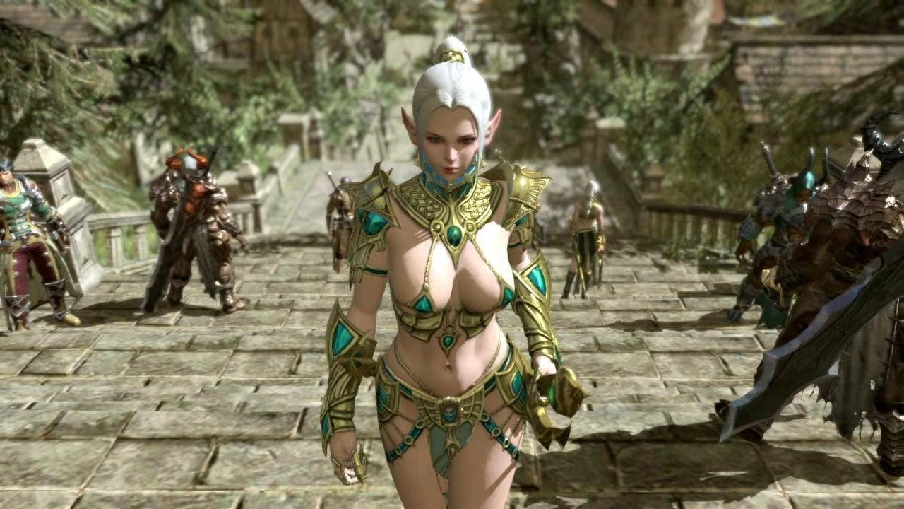 Video Game Boobs Uncensored