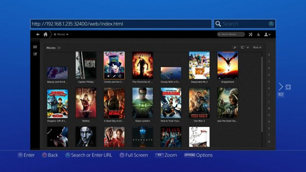 PS4 Movie Streaming PC