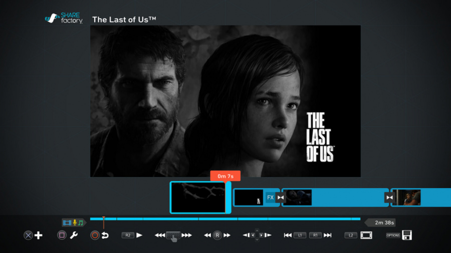 The Last of Us Remastered PS4 SHAREfactory